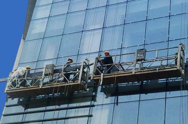 100 મી - 300 મીટર ઊંચી ઉભી બિલ્ડિંગ પેઇન્ટિંગ માટે ઍક્સેસ પ્લેટફોર્મ 220v