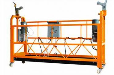 સીઇ પ્રમાણિત એલ્યુમિનિયમ સસ્પેન્ડ વર્કિંગ પ્લેટફોર્મ zlp1000 મોટર પાવર 2.2kw