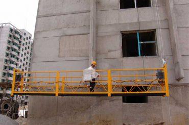 2.5 મીટર * 3 વિભાગો અસ્થાયી ધોરણે એક્સેસ સાધનો ઝેલ્પી 800 ઉપર ઉભો સાથે 1.8 કેડબલ્યુ