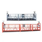 10 મીટર સ્ટીલ / એલ્યુમિનિયમ 3 વ્યક્તિ કામ કરવા માટે એક્સેસ સાધન zlp1000 નિલંબિત