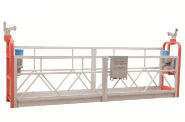 zlp630 પેઇન્ટેડ સ્ટીલ રવેશ સફાઈ કામ પ્લેટફોર્મ નિલંબિત