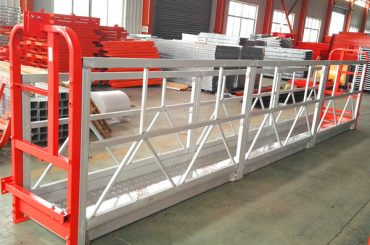 વિન્ડો સફાઇ રોપ સસ્પેન્ડેડ પ્લેટફોર્મ ZLP630 ઉકળતા LTD6.3 મોટર પાવર 1.5 કિલો સાથે