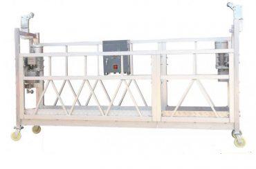 સ્ટીલ પેઇન્ટેડ / હોટ ગેલ્વેનાઇઝ્ડ / એલ્યુમિનિયમ ઝીએલપી 630 એ રવેશ પેઇન્ટિંગ બનાવવા માટે કામ કરવાનું પ્લેટફોર્મ સસ્પેન્ડ કર્યું છે