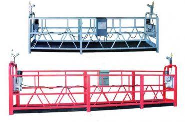 બાંધકામ માટે ZLP500 સ્સ્પેન્ડેડ એક્સેસ ઇક્વિપમેન્ટ / ગોંડોલા / ક્રૅડલ / મકાઈ