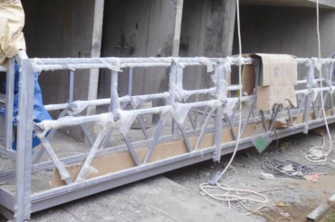 ઉચ્ચ સુરક્ષા રોપ પેઇન્ટિંગ માટે પ્લેટફોર્મ પ્રશિક્ષણ ઊંચાઈ 300 મીટર સસ્પેન્ડ કરી